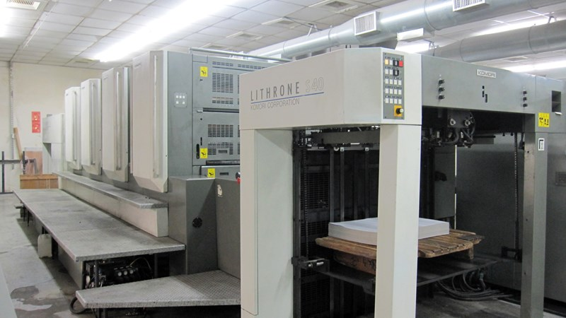 Show details for Komori Lithrone LS440