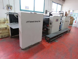 GMP Pioneer 800 III Laminating Finishing