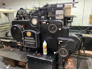 Heidelberg  SBG Diecutting & hot foil stamping cylinder Finishing