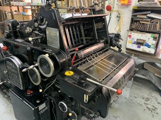Heidelberg OHZ KSB Die Cutters - Automatic and Handfed