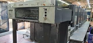 Heidelberg SM 102-8-P5 单张纸胶印机