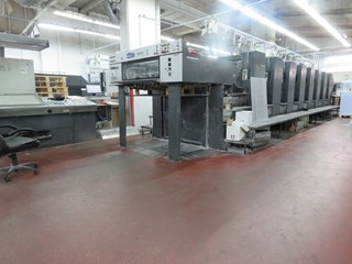 Heidelberg SM 102-8-P5 Sheet Fed