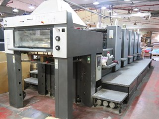 Heidelberg SM 74-5 H Sheet Fed