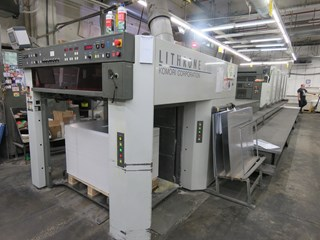 Komori LITHRONE L540 LX Hybrid Sheet Fed