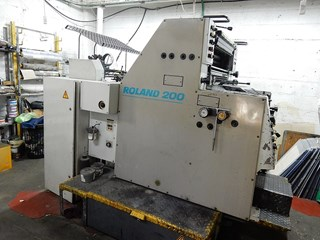 Manroland R202 Sheet Fed