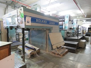 Manroland 804-5 Sheet Fed