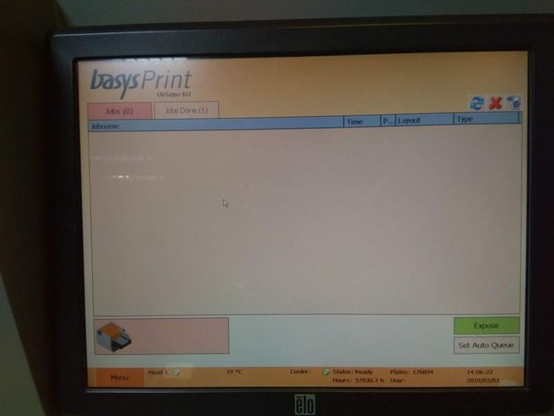 BasysPrint  UV setter 851-F