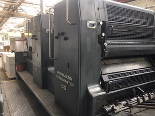 Heidelberg CD 102-2 with UV Sheet Fed