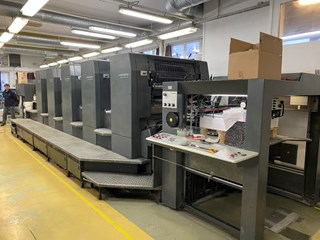 Heidelberg SM 102-5 P Sheet Fed