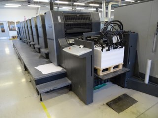 Heidelberg SM 74-8 P Sheet Fed