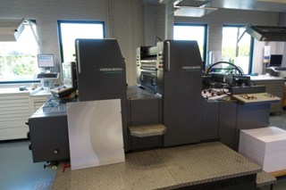 Heidelberg SM74-2 Sheet Fed