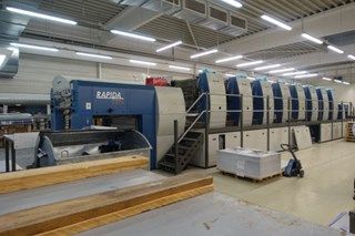KBA Rapida RA 130A-8 SW Sheet Fed