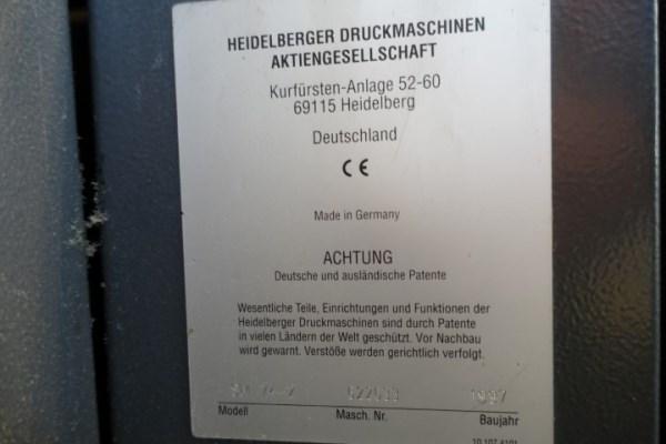 Heidelberg SM74-2