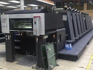 Heidelberg SPEEDMASTER CD 74-10 P6 Sheet Fed