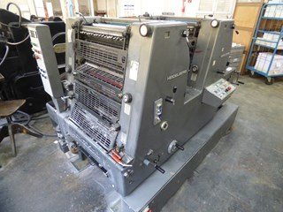 Heidelberg GTO Z 52 + Sheet Fed