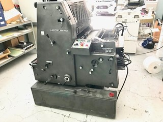 Heidelberg GTO 52 + Gebrauchte Bogenoffsetmaschinen