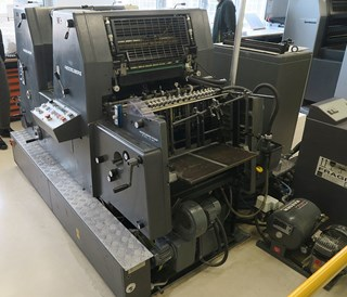 Heidelberg GTO ZP 52- Sheet Fed