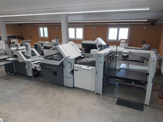 Heidelberg Stahlfolder KH 82/6 KTL - P - Automatic Folding machines