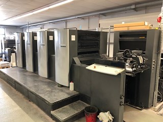 Heidelberg SPEEDMASTER SM 74-4 T Sheet Fed