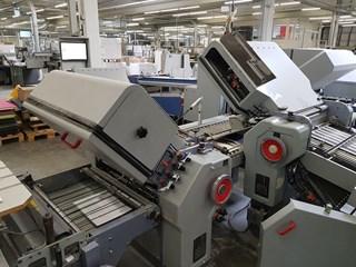 Heidelberg Stahlfolder TD 66/462 - RD Plegadoras de papel