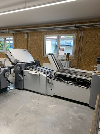Heidelberg STAHLFOLDER TH 82/442 + VFZ - R Folding machines