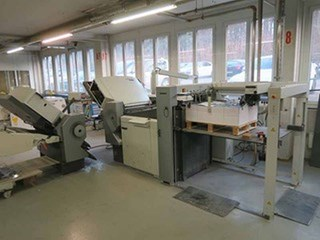 Heidelberg Stahlfolder TH 82/66 - PFH Folding machines