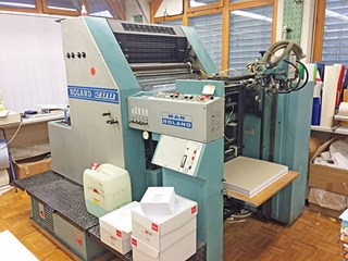 MAN Roland R 201 T Ob Sheet Fed