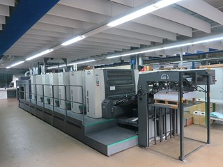 MAN Roland R 706-3b + LV 单张纸胶印机