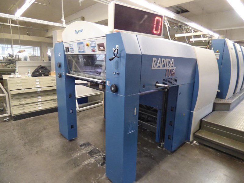 KBA Rapida RA 106-8 SW4 - SPC