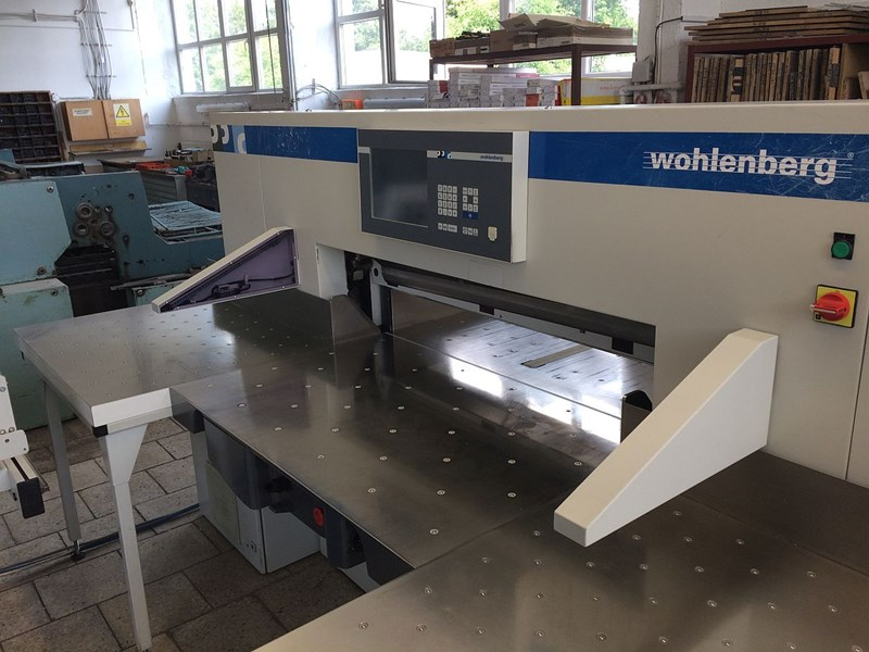 Show details for Wohlenberg 115 CutTec
