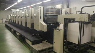 Komori L740+C Sheet Fed