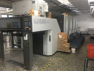 2017 Komori GL-440 Sheet Fed