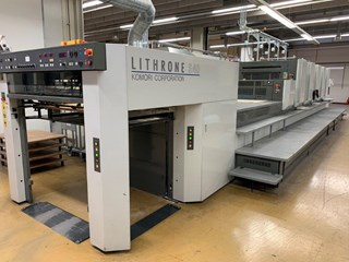 Komori Lithrone LS 540LX EH Sheet Fed