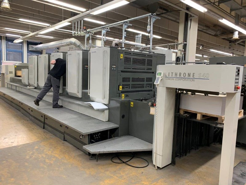 Show details for Komori Lithrone LS 540LX EH