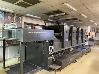 Heidelberg SM 102 V (Straight) Sheet Fed