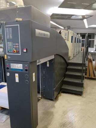Man Roland 705 DD Straight Sheet Fed