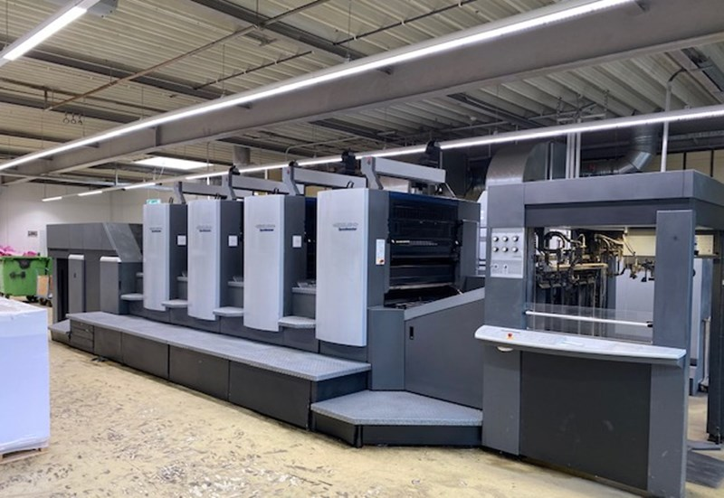 Show details for Heidelberg SM 102 4 Straight