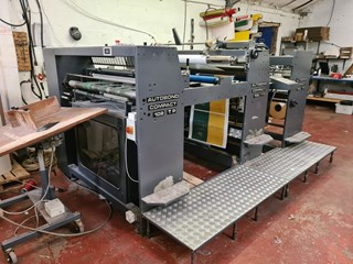 2001 Autobond 102 TP Laminating and Coating