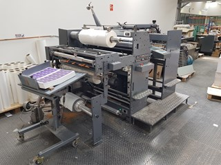 2007 AUTOBOND MINI 74TPH DOUBLE SIDED LAMINATOR  MACHINES A PELLICULER ET CONTRE-COLLER