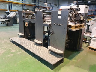 2002 Autobond Compact 74T  Laminating and Coating
