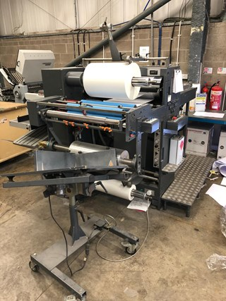 2008 AUTOBOND MINI 52TP DOUBLE SIDED LAMINATOR  MACHINES A PELLICULER ET CONTRE-COLLER