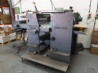 2006 AUTOBOND MINI TH  MACHINES A PELLICULER ET CONTRE-COLLER