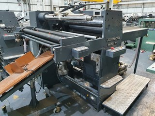 2005 AUTOBOND MINI T 74  MACHINES A PELLICULER ET CONTRE-COLLER