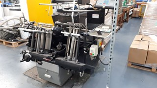 HEIDELBERG GTS PLATEN With B & H Hot Foiling Attachment  Foil Blockers