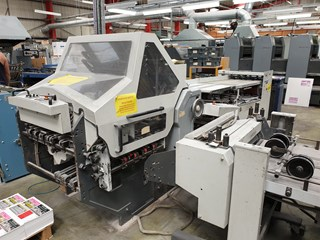Heidelberg Stahl KD 66/4 KTL Folding machines