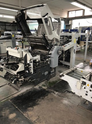 2002 Heidelberg Stahl KD78-6KZRL Folding Machines