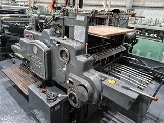 Heidelberg SB Cylinder Converting Equipment