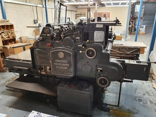 HEIDELBERG SB CYLINDER Die Cutters - Automatic and Handfed