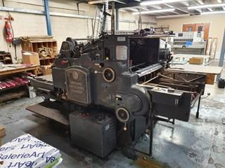 Heidelberg SB Cylinder Hot Foil Stamping