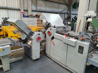 2000 STAHL TI52-6.4  Folding machines